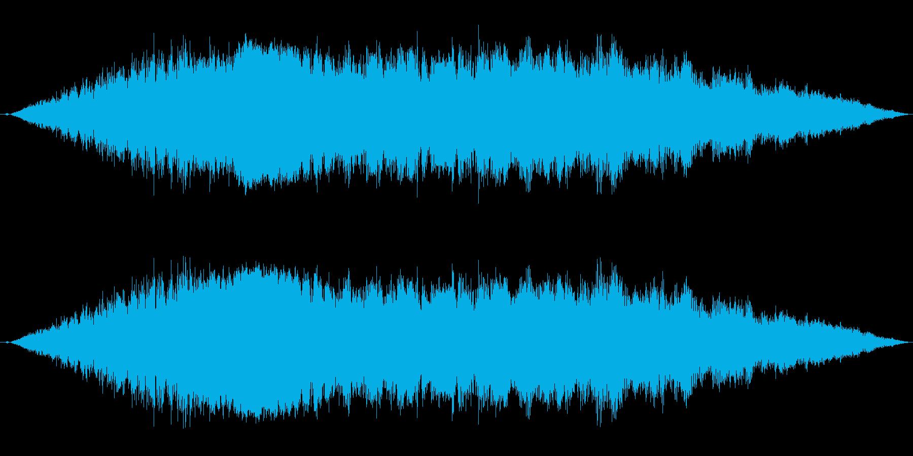 【F1】超ド迫力のF1エンジン効果音2!の再生済みの波形