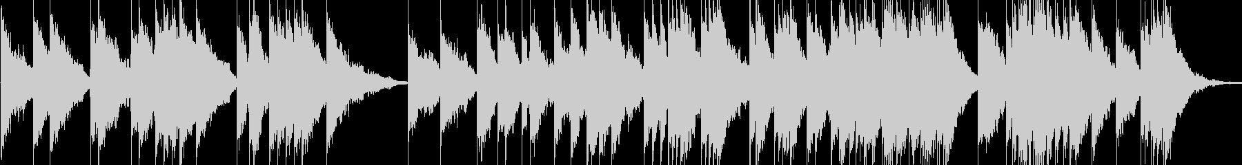 ピアノとシンセ。の未再生の波形