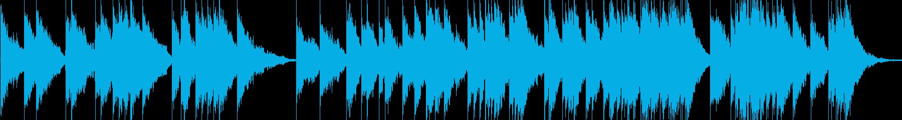 ピアノとシンセ。の再生済みの波形