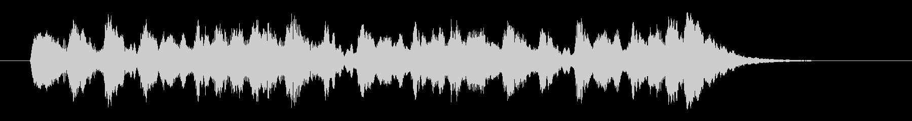 コーラス・サンプリングのメロディーの未再生の波形