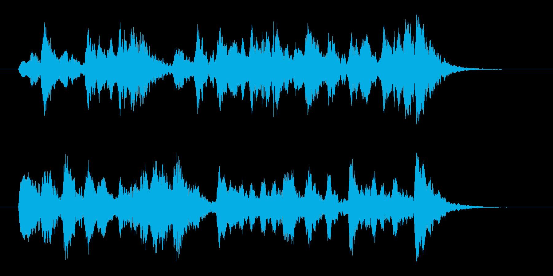 コーラス・サンプリングのメロディーの再生済みの波形