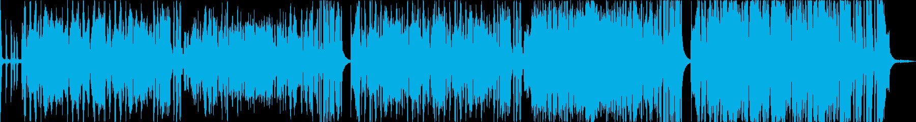 アコーディオン主体の旅っぽいかっこいい曲の再生済みの波形