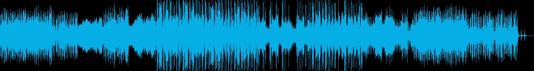 安堵感とシリアスな感じが入り混じった曲の再生済みの波形