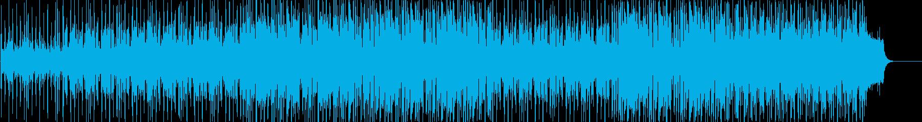軽快で新鮮なイメージのポップスの再生済みの波形