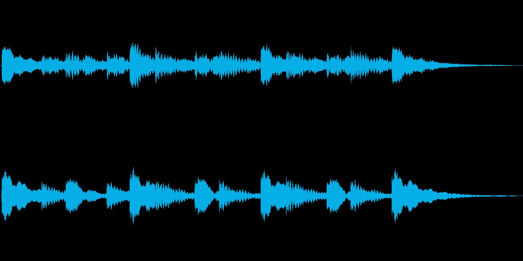 半音階(混乱・困惑・考え中)の再生済みの波形