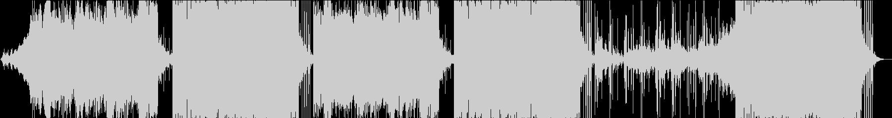 シネマティック、ヒップホップの未再生の波形