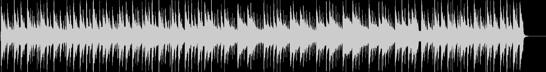 琴、三味線、尺八のほのぼの日常BGMの未再生の波形