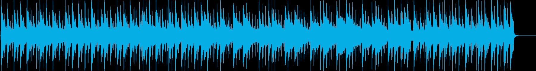 琴、三味線、尺八のほのぼの日常BGMの再生済みの波形