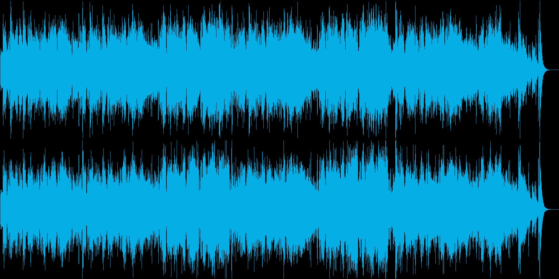 オープニング・出発・感動系オーケストラの再生済みの波形
