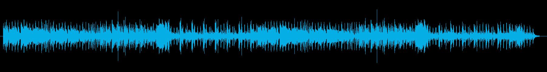 電気屋さんの店内BGMっぽい曲の再生済みの波形