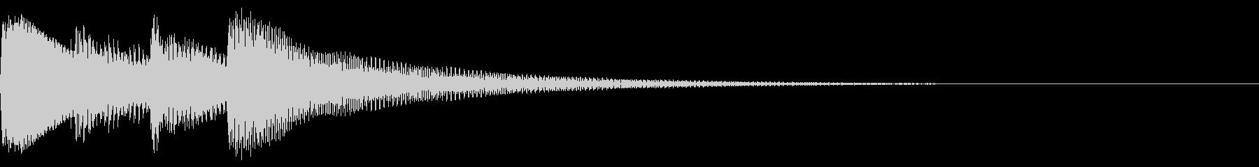 陽だまり アルペジオ ナイロンギターの未再生の波形