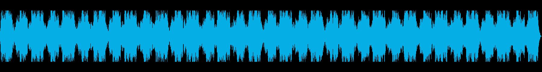 長めで深いヒーリングミュージック・ヨガ用の再生済みの波形