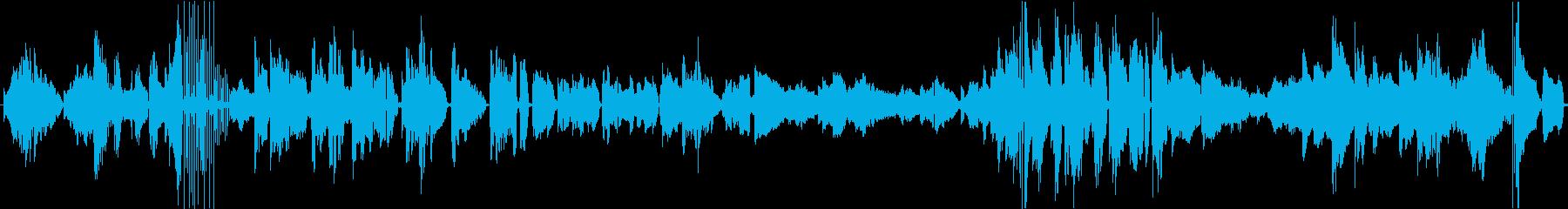 スムーズジャズ。の再生済みの波形