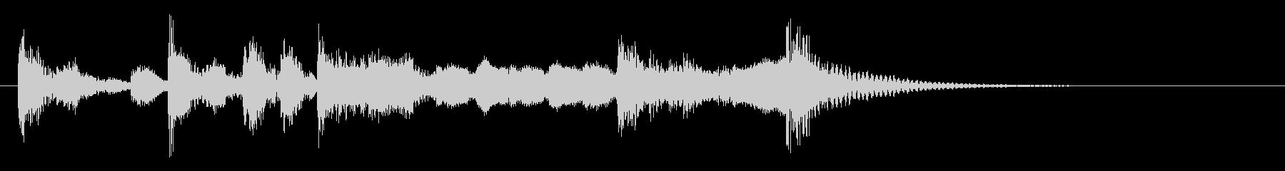 演歌な ジングル アイキャッチ 2の未再生の波形