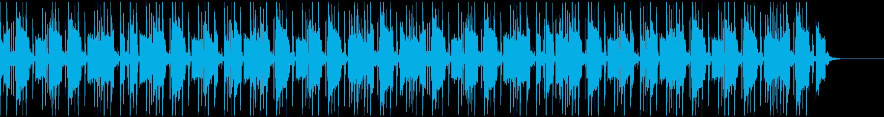80sマイケル、ゴーストバスターズ風楽曲の再生済みの波形