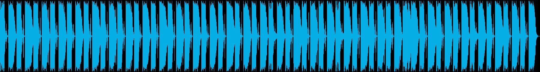 【エレクトロニカ】ロング2、ミディアム2の再生済みの波形