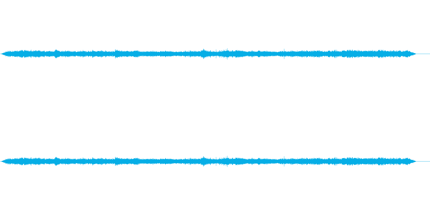 オキシゲノ病院の再生済みの波形