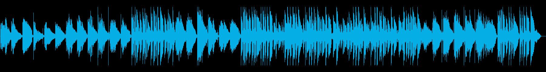 クリーンでエレクトリックギターで演...の再生済みの波形