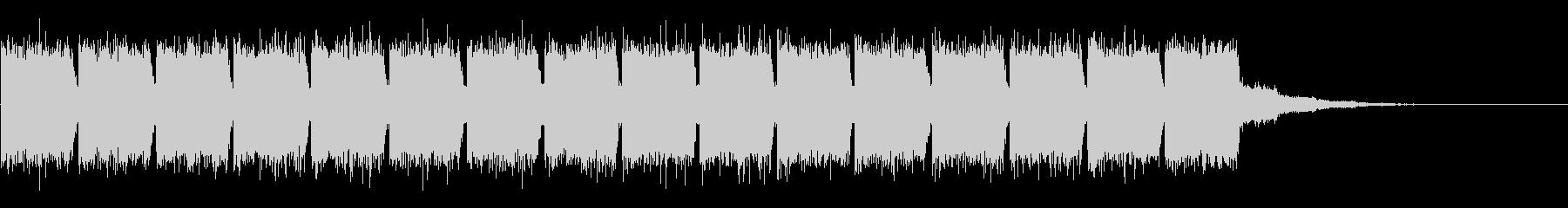 KANT近未来映画アニメ的アラーム音2の未再生の波形