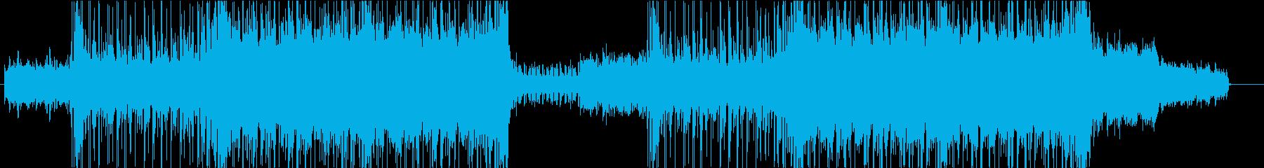 シンプルに盛り上がるダンスミュージックの再生済みの波形