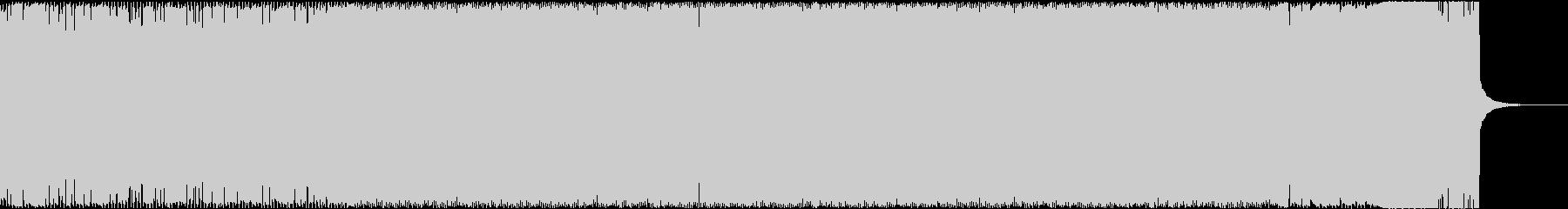 ダークでバイオ感満載のエレクトロの未再生の波形