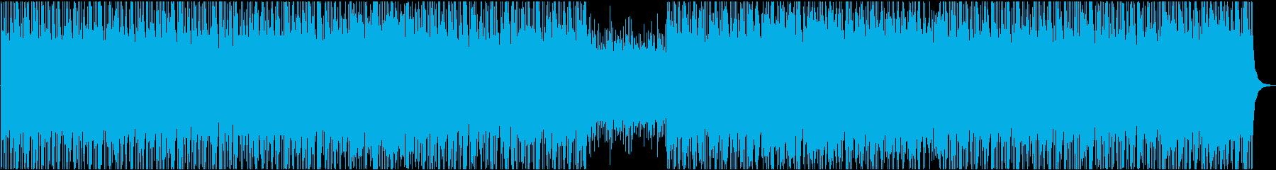 疾走感・クールなエレクトロポップ・OPの再生済みの波形