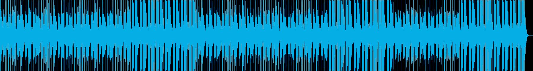 真冬の夜を感じるメローなチルホップの再生済みの波形