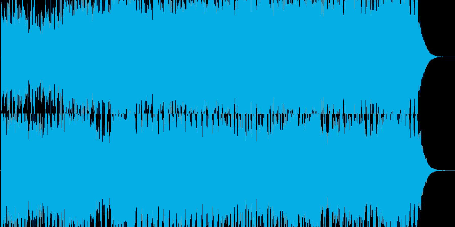 4度進行のすぎやまさん風戦闘曲の再生済みの波形