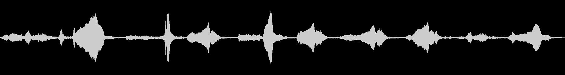 アコード、図8のパターンでの一連の...の未再生の波形