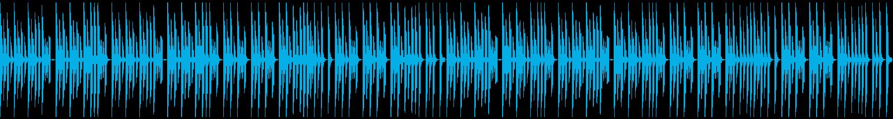 FC風ループ あれからの再生済みの波形