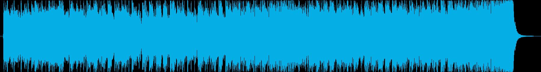 クールにぎやか軽快疾走感ブラスロックcの再生済みの波形