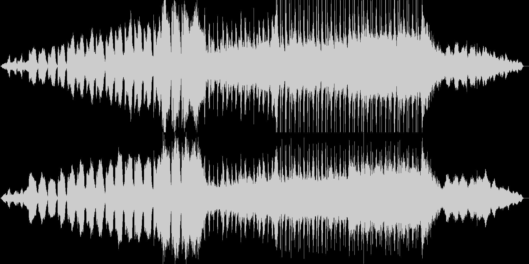 オーケストラによる壮大なプレリュードの未再生の波形