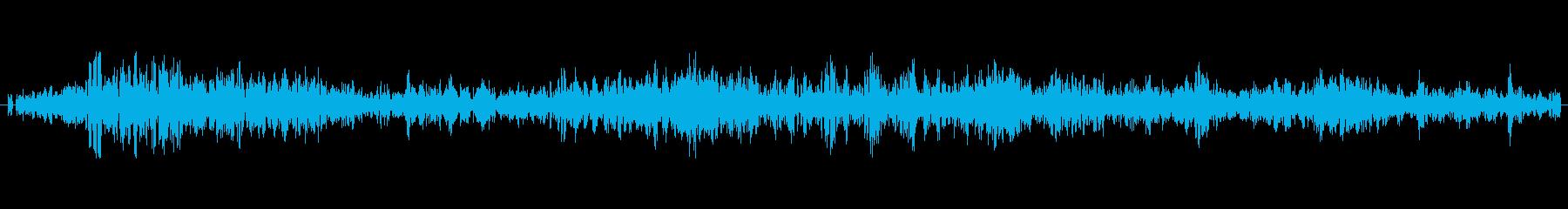風/強風/嵐/竜巻の演出に最適!ループ可の再生済みの波形