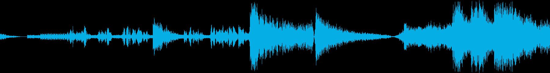 宇宙戦闘デュエル:ボーカルによる敵...の再生済みの波形