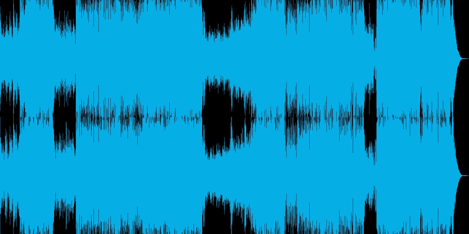 ピアノ・冒険・大空を翔けるテーマ 長尺の再生済みの波形