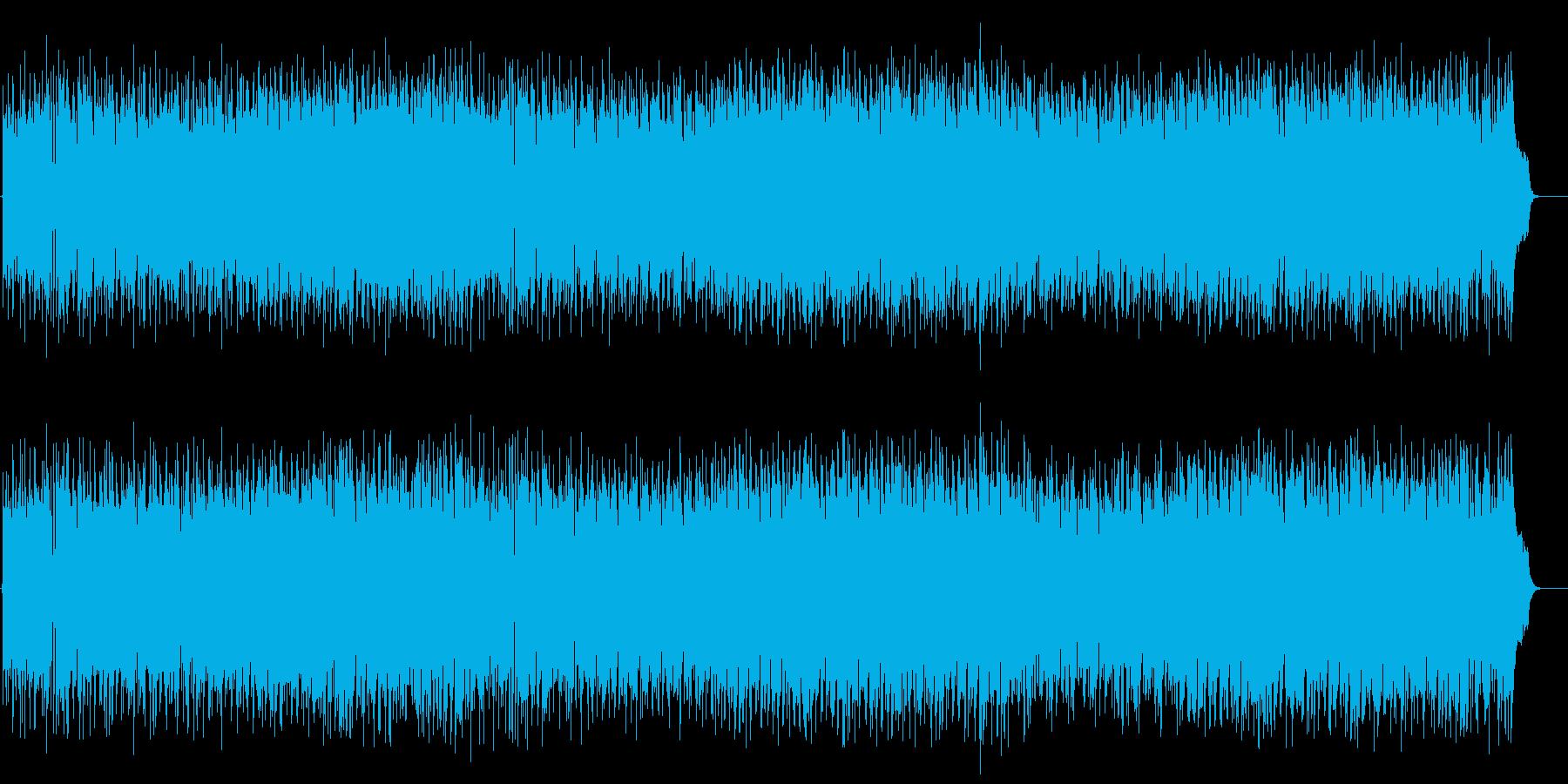 爽やかで優しいポップス(フルサイズ)の再生済みの波形