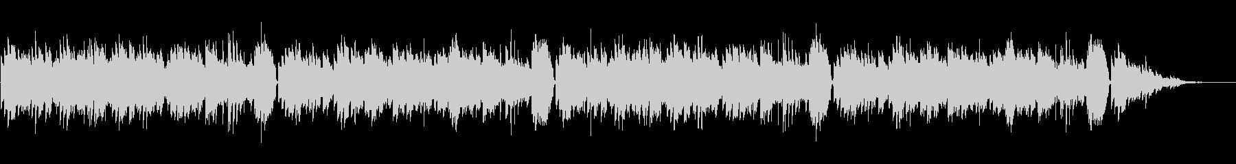 童謡「シャボン玉」シンプルなピアノソロの未再生の波形