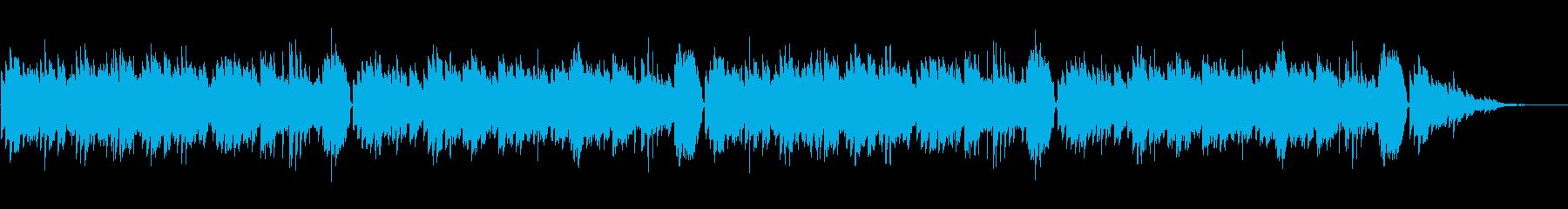 童謡「シャボン玉」シンプルなピアノソロの再生済みの波形