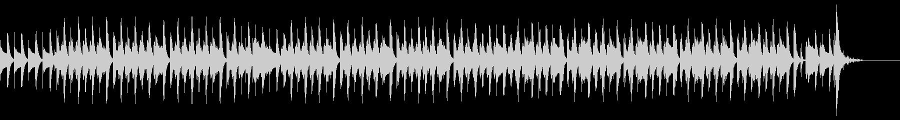 絵かき歌 完成してキラキラ音 ゆるカワ の未再生の波形