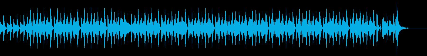 絵かき歌 完成してキラキラ音 ゆるカワ の再生済みの波形