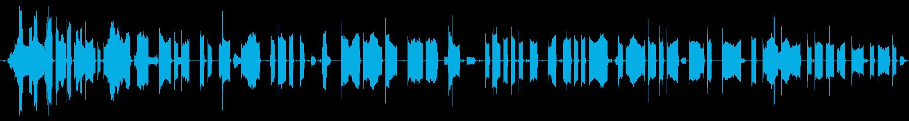 ヴィンテージブロークントーンコンピ...の再生済みの波形
