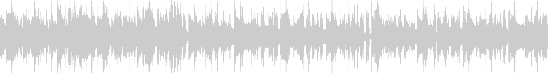 ベースラインが特徴的なファンクサウンドの未再生の波形