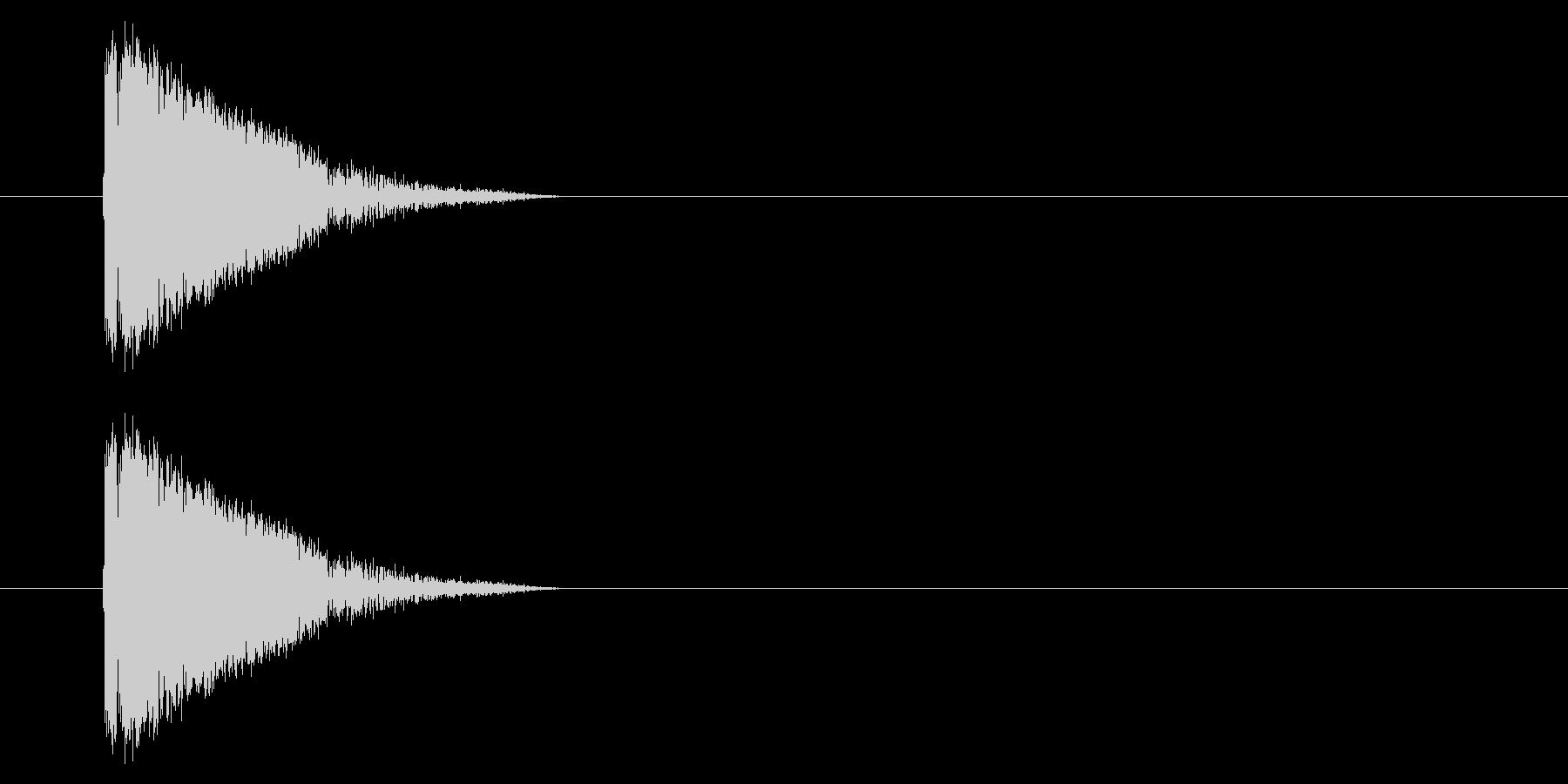 アーケード シューティング01-1(発射の未再生の波形