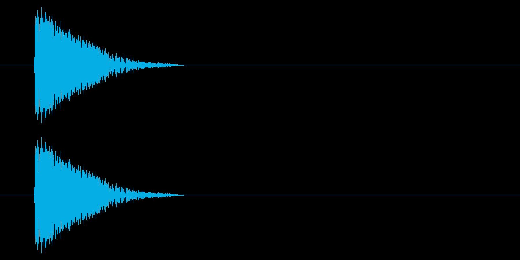 アーケード シューティング01-1(発射の再生済みの波形