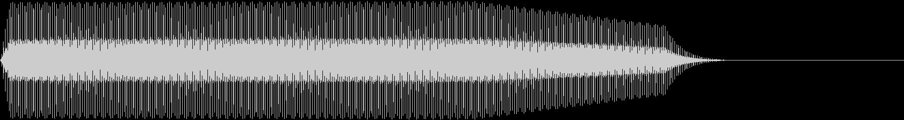 DENSHION ハイトーンな電子音 2の未再生の波形