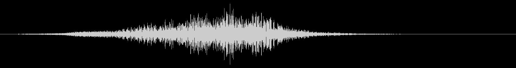ヒューシュヘビーディープテンションパス1の未再生の波形