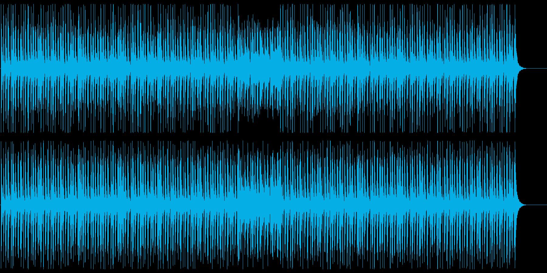 和風でコミカルな雰囲気の三味線BGMの再生済みの波形