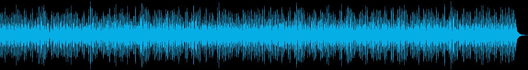 ほっこり・秋・登山・ポップスの再生済みの波形