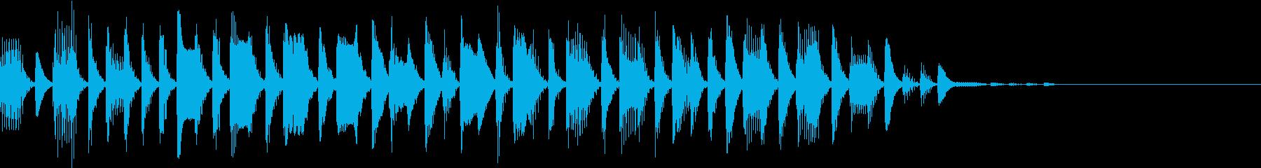 オープニング53の再生済みの波形