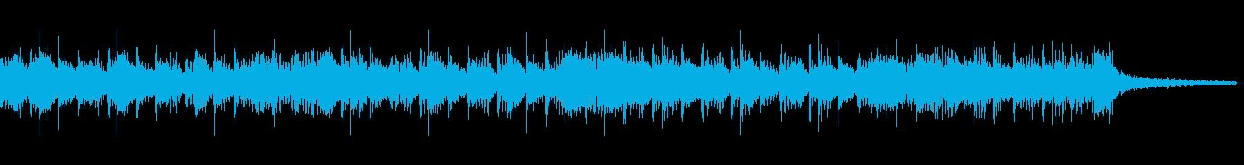 ジングルに使えるハードなインストの再生済みの波形